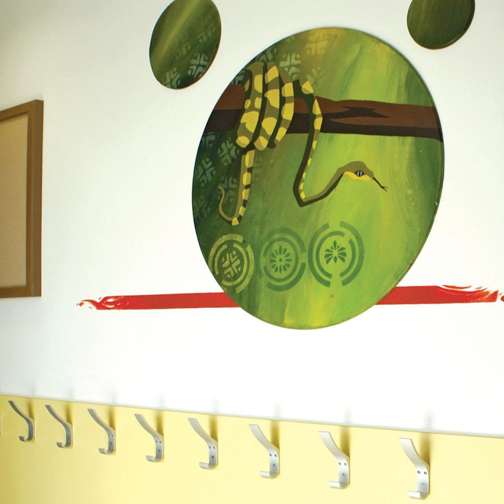 70 fresques pour les enfants passe muralpasse mural for Bineau mural levallois perret